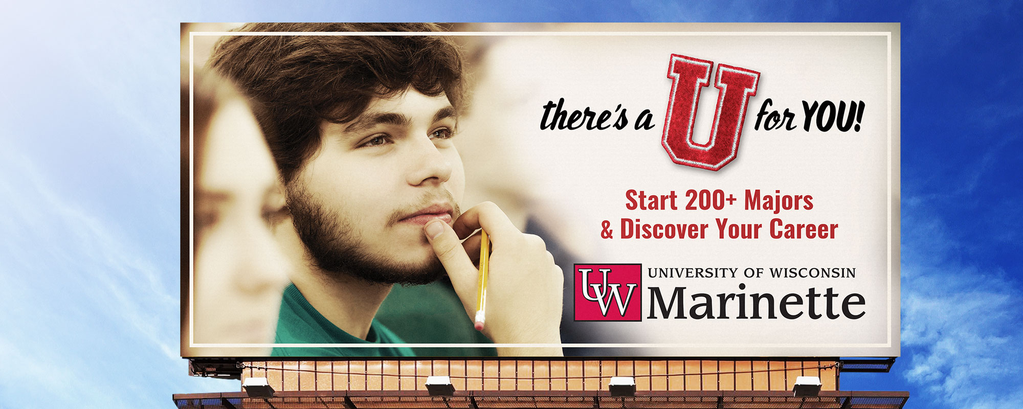 UW Colleges 2017 Spring Awareness Campaign Billboard