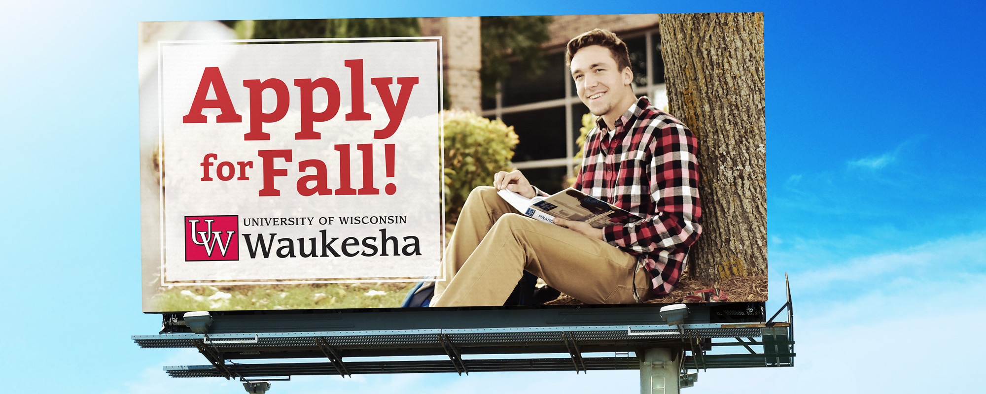 UW Colleges 2018 Fall Awareness Campaign Billboard