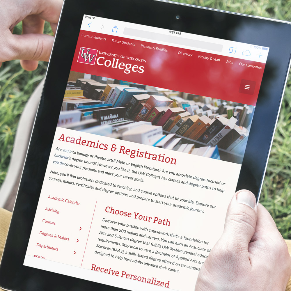 UW Colleges Website Featured