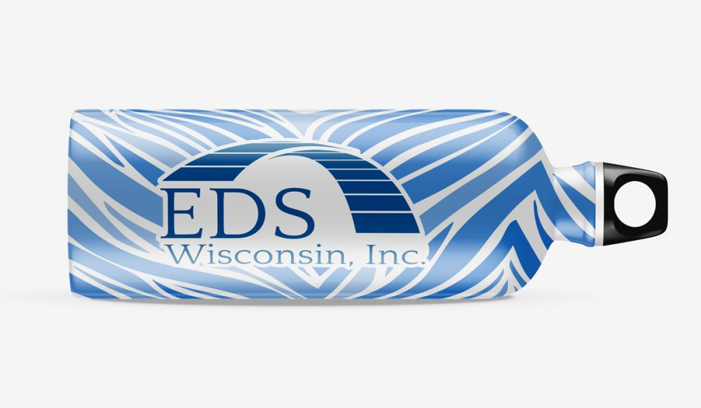 EDS Wisconsin Inc. Branding Water Bottle