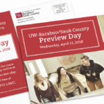 UW Colleges 2018 Spring Campus Preview, Postcard