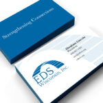 EDS Wisconsin Inc. Branding Business Cards