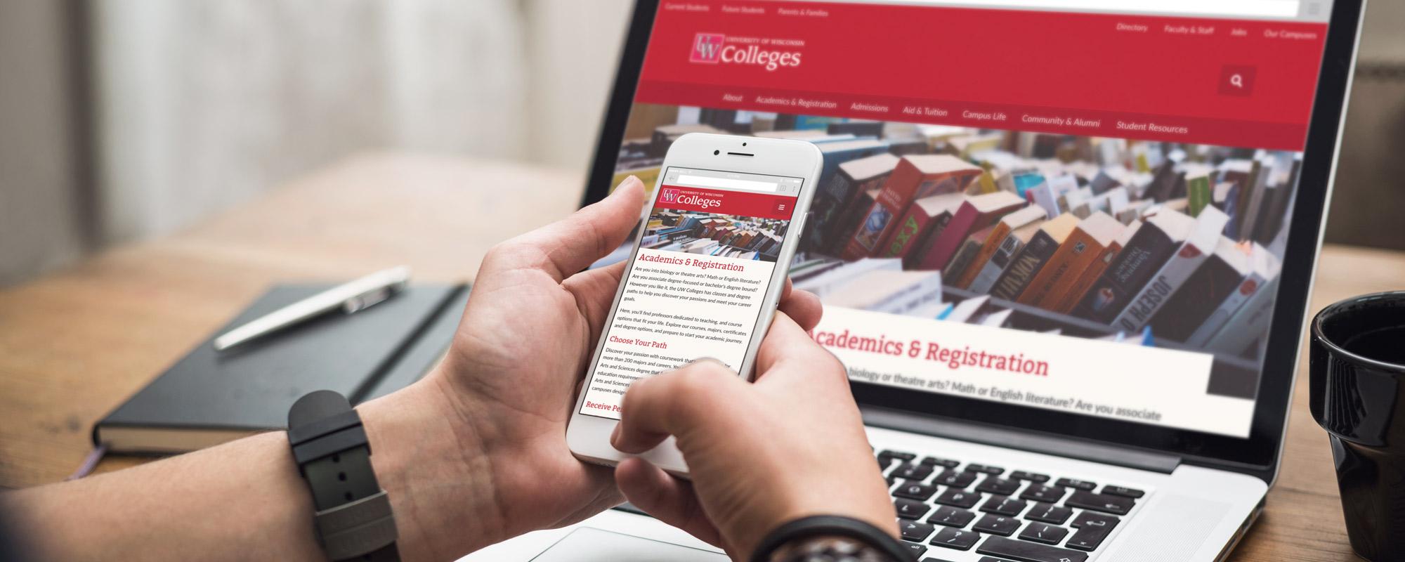 UW Colleges Website Hero